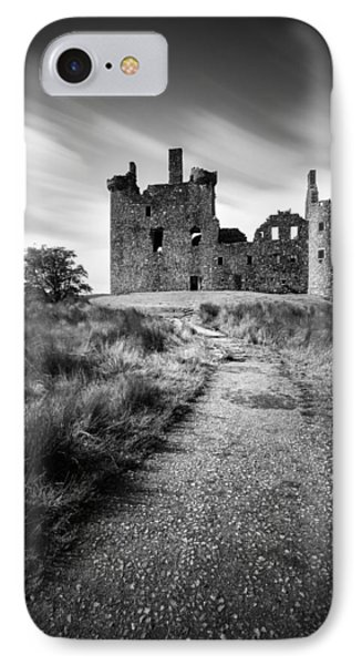 Castle iPhone 8 Case - Path To Kilchurn Castle by Dave Bowman