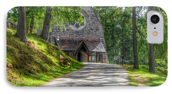 Pathway To Crathie Church IPhone Case