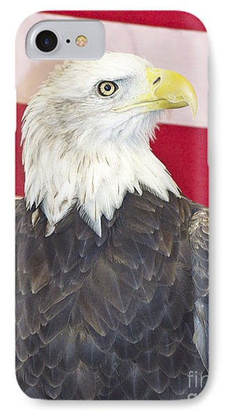 Patriotic Bald Eagle IPhone Case