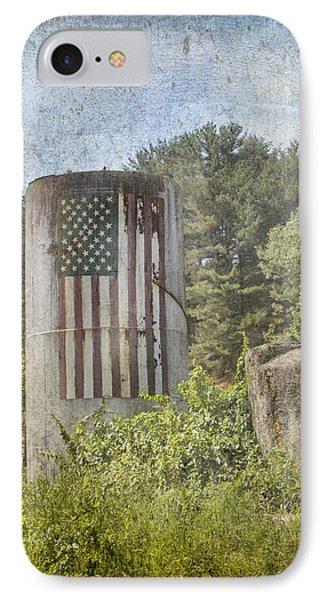 Patriotic Farm Silo IPhone Case