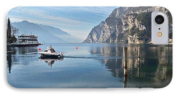 Patrol On The Lake  IPhone Case