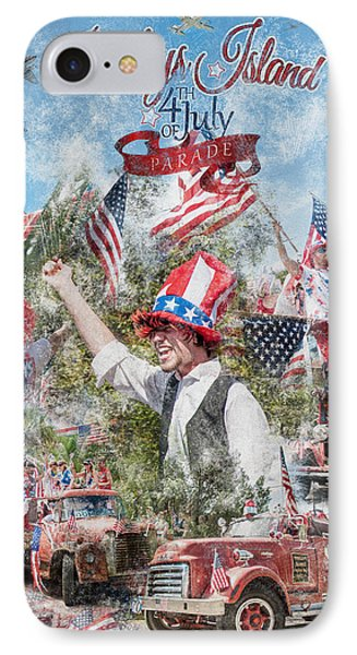 Pawleys Island 4th Of July Parade IPhone Case
