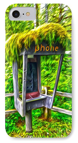Pay Phone IPhone Case