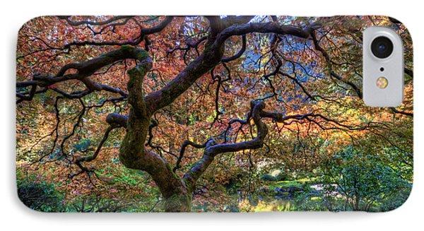 Peaceful Autumn Morning IPhone Case