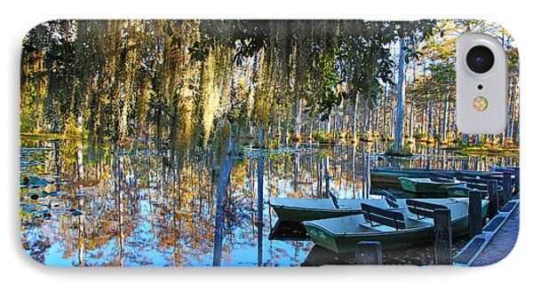 Peaceful Boat Landing By Jan Marvin IPhone Case