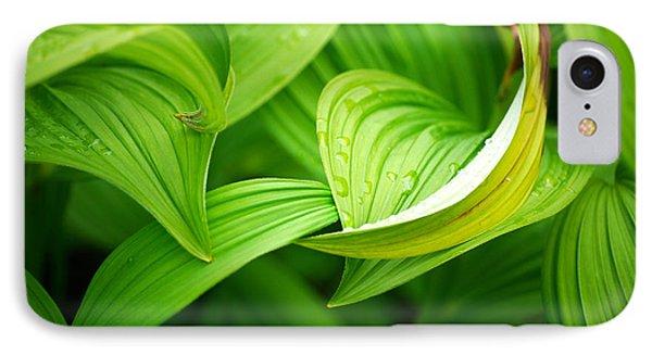 Peaceful Green IPhone Case