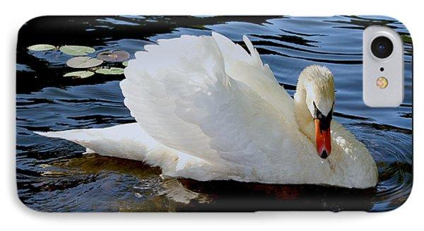 Peaceful Swan IPhone Case
