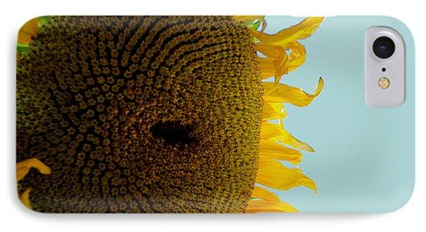 Peak A Boo Sunflower IPhone Case