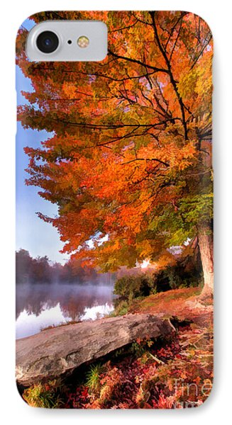 Peak Of Color - Blue Ridge Parkway Price Lake IPhone Case