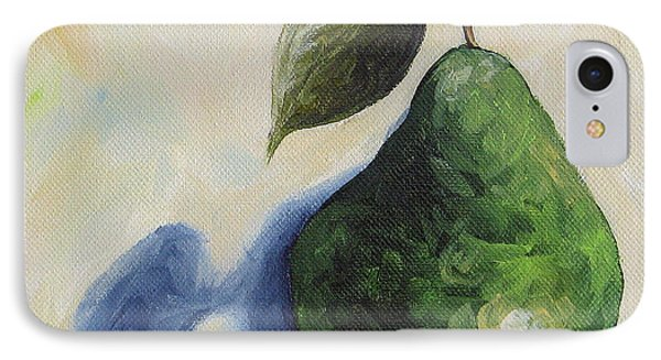 Pear In The Spotlight IPhone Case