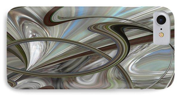 Pearl Swirl IPhone Case