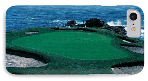 Pebble Beach Golf Course 8th Green IPhone Case