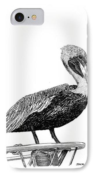 Monterey Pelican IPhone Case