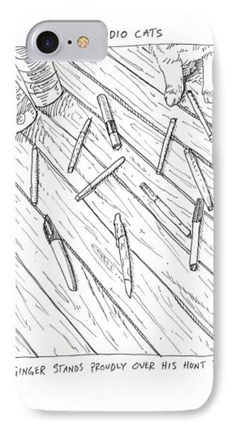 Pen Massacre IPhone Case