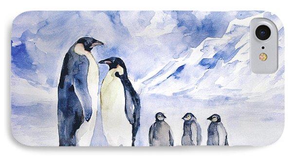 Penguin Family IPhone Case