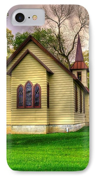 Pennsylvania Country Churches - Heckton Church At Fort Hunter Autumn - Dauphin County IPhone Case