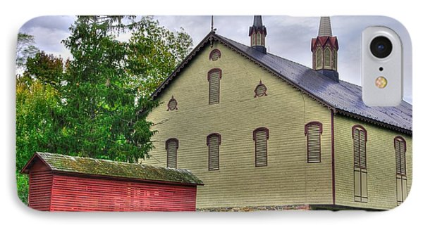 Pennsylvania Country Roads - The Centennial Barn - Fort Hunter Park - Dauphin County IPhone Case