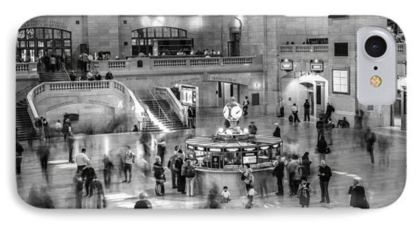 People At The Grand Central Station IPhone Case