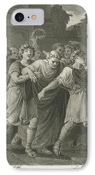People Go To The Feast In Honor Of Cato, Print Maker IPhone Case