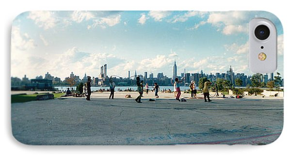 People In A Park, East River Park, East IPhone Case