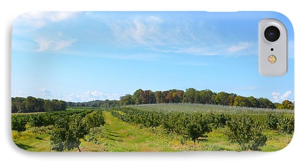 Perfect Fall Day On Alstede Farm IPhone Case