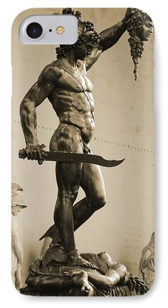 Perseus With The Head Of Medusa IPhone Case