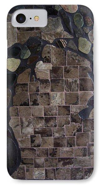 Pestoskey Stone Michigan Map IPhone Case