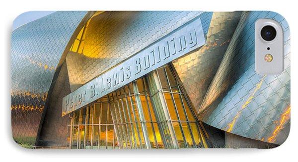 Peter B. Lewis Building I IPhone Case