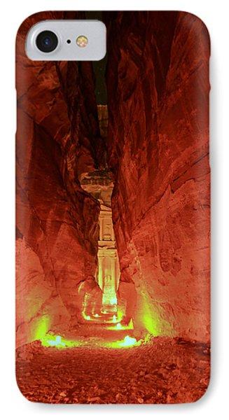 Petra Night Journey IPhone Case
