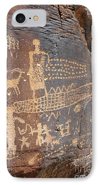 555p Petroglyph - Nine Mile Canyon IPhone Case