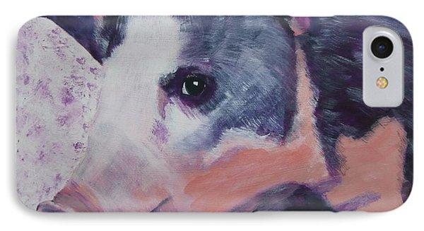 Petunia Pig IPhone Case