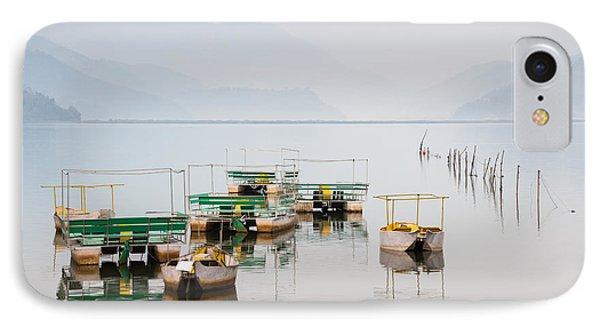 Phewa Lake In Pokhara Nepal IPhone Case