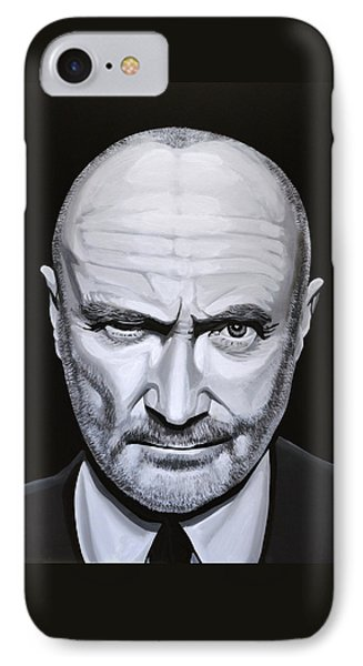 Trumpet iPhone 8 Case - Phil Collins by Paul Meijering