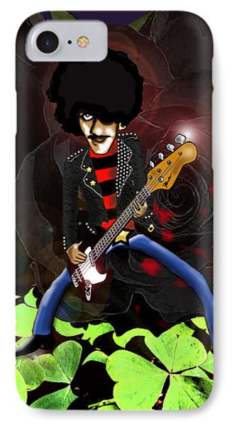 Phil Lynott Of Thin Lizzy IPhone Case