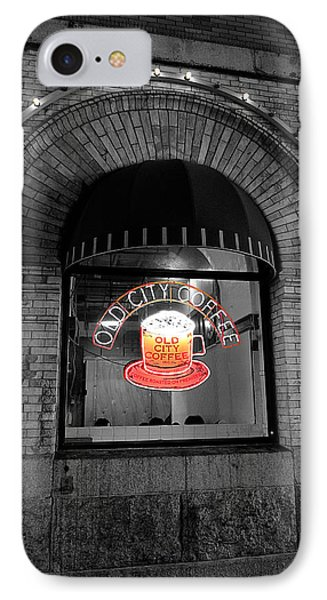 Philadelphia -old City Coffee IPhone Case