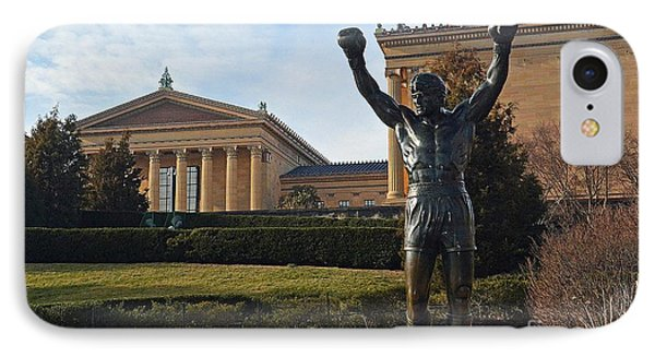 Philadelphia - Rocky  IPhone Case