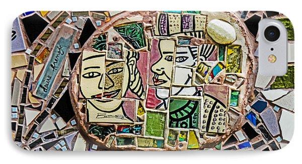 Philadelphia Tile Art Graffiti IPhone Case