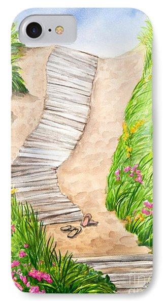 Philbin Beach Path IPhone Case