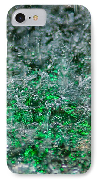 Phone Case - Liquid Flame - Green 2 - Featured 2 IPhone Case