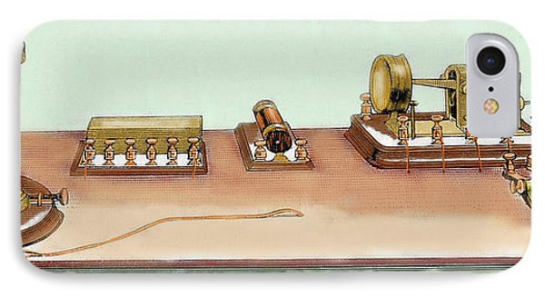 Phonoplex Telegraph Invented By Thomas IPhone Case