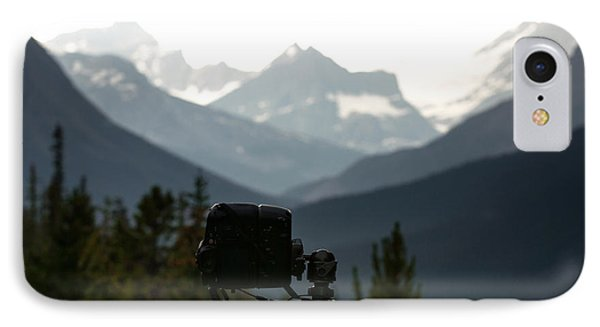 Photographing The Tonquin Valley IPhone Case