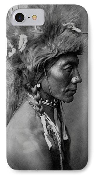 Piegan Indian Circa 1910 IPhone Case