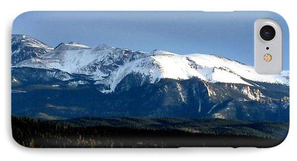 Pikes Peak Panorama IPhone Case