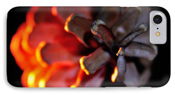 Pine Cone Fire IPhone Case