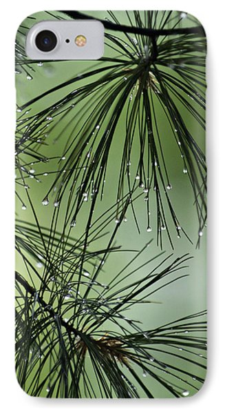 Pine Droplets IPhone Case
