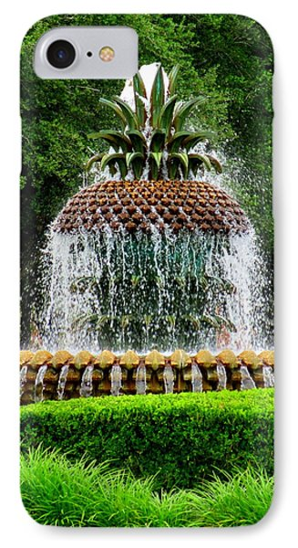 Pineapple Fountain 2 IPhone Case
