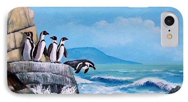 Pinguinos De Humboldt IPhone Case