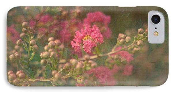 Pink Crepe Myrtle IPhone Case