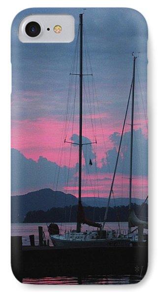 Pink Night IPhone Case