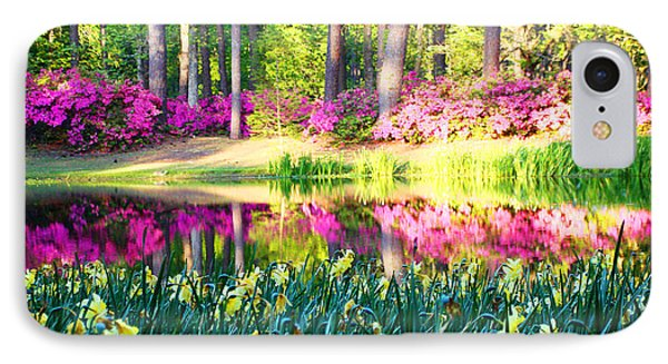 Pink Reflections By Jan Marvin IPhone Case